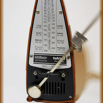 Vintage TAKTELL METRONOME - West Germany