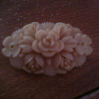 My favorite antique flower pin - Costume Jewelry