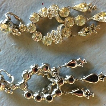 Looking for information on these earrings - Costume Jewelry