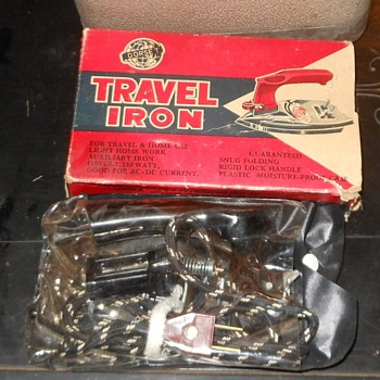 Vintage Dorset Travel Iron Circa 1960