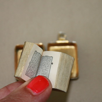 Air France Quran Miniature Book  - Books