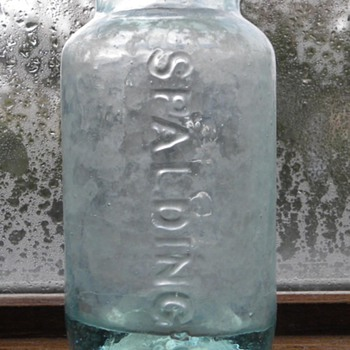 Open Pontil Spalding's Glue Bottle - Bottles