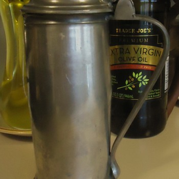 Pewter English tankard,  OLD?  Need help,  CHEERS!!! - Breweriana