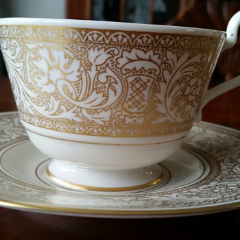 Renaissance Gold by Franciscan ~ Cup & Saucer MINT