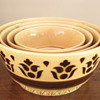Vintage 1950-60&#039;s East German nesting bowls