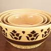 Vintage 1950-60's East German nesting bowls