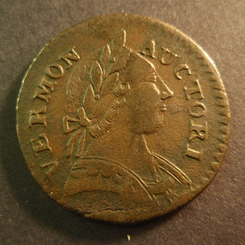 1787 Vermont colonial coin Ryder-13 - US Coins