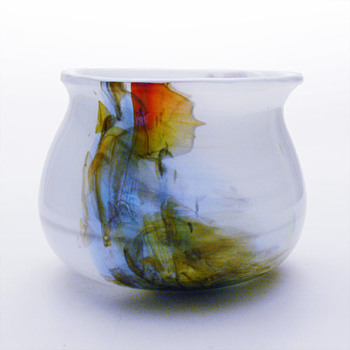 CASCADE big bowl, per Lütken (Holmegaard, 1974) - Art Glass
