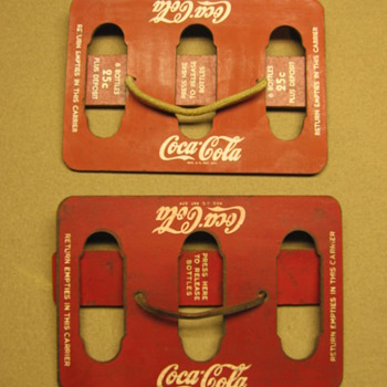 Masonite Coca-Cola Carriers - Coca-Cola