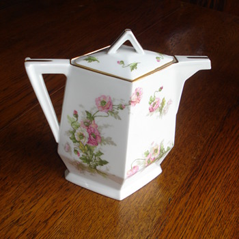 Chocolate Pot Limoges for A Los Mandarines
