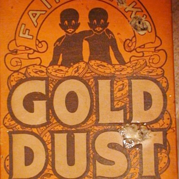 Gold Dust Gold Dust Twins Lever Brothers - Advertising