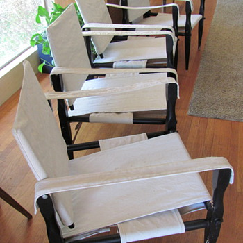 Safari Chairs - Mid Century Modern