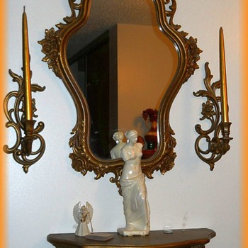 SYROCO - Mirror Candle Shelf SET  - Furniture