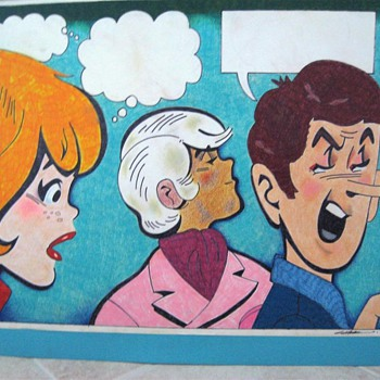 Archie Original Water Color - Production Illustration - Comic Books
