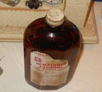 Vintage Bottle Poison Skull and Crossbones | Collectors Weekly