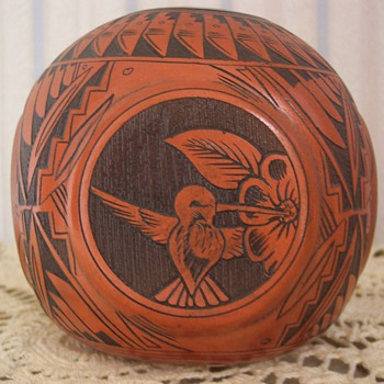 4 Side Navajo Pottery
