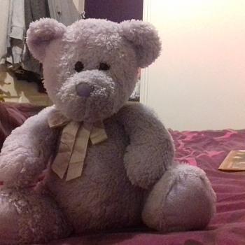 purple teddy by plush co