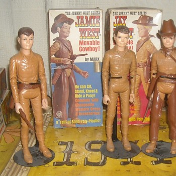 Jamie West Johnny West's Other Son Best Of The West - Toys