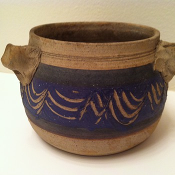 Studio Pottery Pot - Art Pottery