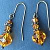 Vintage earrings x 4
