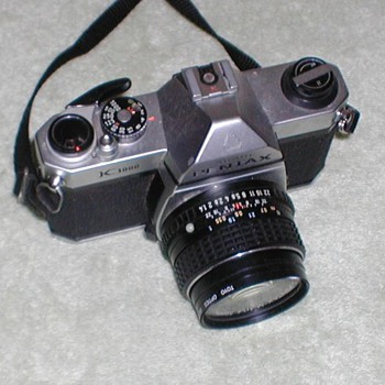 Pentax Asahi K1000 35mm Cameras