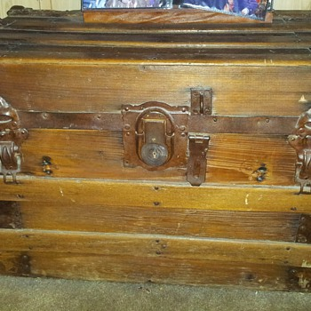 Yale & Towne Trunk given to me