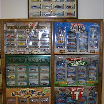 JC Penny's Treasure Hunt Sets - Model Cars