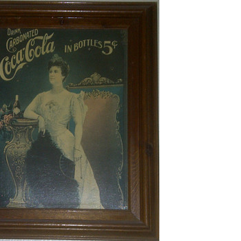 oil painting Coke picture, L Nordica - Coca-Cola