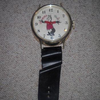 Hamm's Hanging Wristwatch Clock (Not Mine)