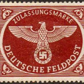 1942 - Germany Military Air Parcel Post Stamp
