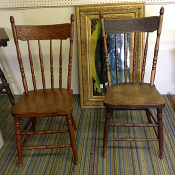 What kind and how old are my chairs? - Furniture
