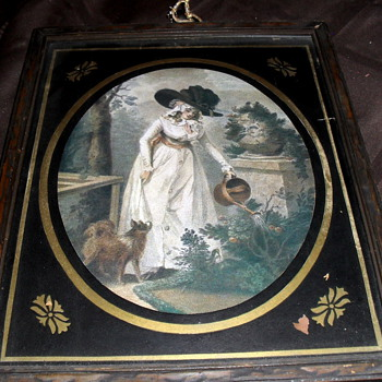 Antique framed print George Morland - Posters and Prints