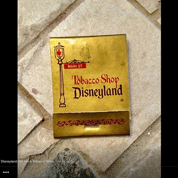 Disneyland Smoke Shop - Tobacciana