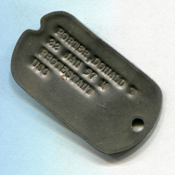"Anyone know what the ""USC"" would stand for on this dog tag?"