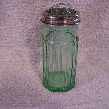 Flower Vase?  Depression Glass? - Glassware