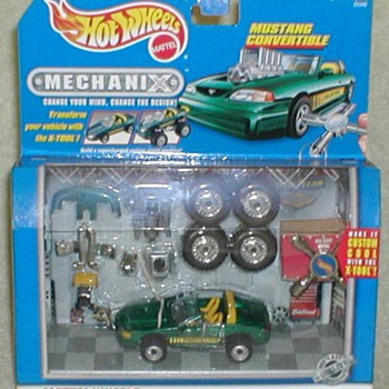"Hot Wheels ""Mechanix"" Mustang Convertible"