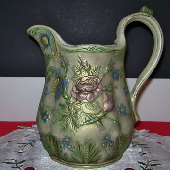 Ceramic Pitcher by Nancy  - Art Pottery