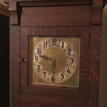 Arts and Crafts Grand father clock