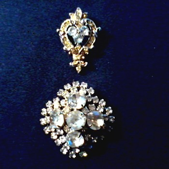 More Vintage Brooches / Circa 20th Century