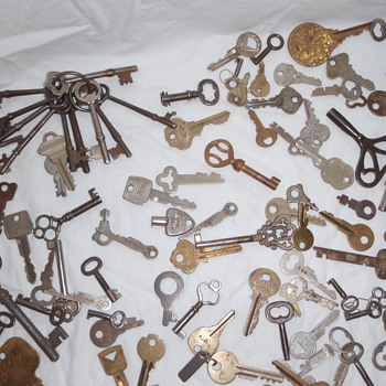 Antique Keys - All types & Uses -  - Tools and Hardware