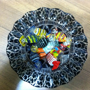 Candy dish - Art Glass
