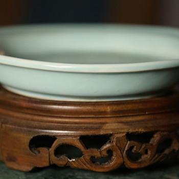 Mystery Plate - Celadon? - Pottery
