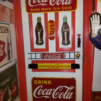 Upgraded Coca Cola Door  - Coca-Cola