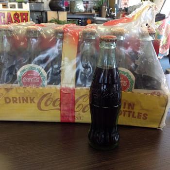 Coca cola bottles