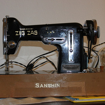 Old sewing machine, found in a box