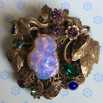 Unsigned brooch/pendant - Costume Jewelry
