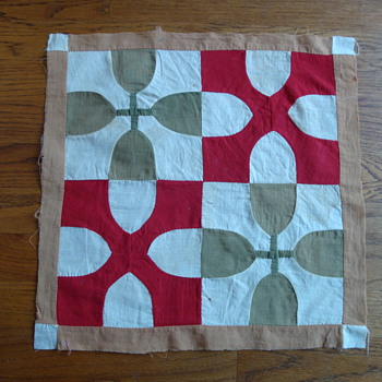 quilt square pattern - Sewing