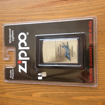 Zippo Holloman Air Force Base New Mexico Jet Lighter