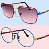 #43 ~ Two Pair 1960's Deadstock Peter Max Sunglasses