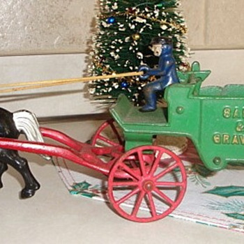 Cast Iron Wagon Toy